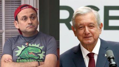 Voté por un imbécil, inepto y corrupto- Lalo España a AMLO